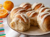 Easy Orange Rolls with Cream Cheese Icing (a Bread Machine Recipe)