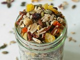 Homemade Fruit and Nut Trail Mix | Thanksgiving in New York City