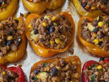 Southwestern Stuffed Peppers Without Rice