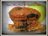 Blueberry & Wheat Bran Eggless Muffins