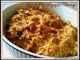 Paruppu and Lime/Lemon Peel Thogayal/Chutney with