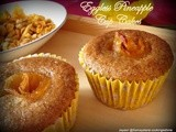 Pineapple Eggless Cup cakes with Rye flour