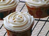 Eggless Ginger- Spice Cupcake