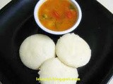 Idli recipe,Steamed Rice Cakes