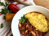 Chili alla Putanesca with Polenta