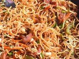 Chinese Noodle Salad / Chinese Bhel