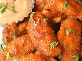 Honey Hot Wings {Sticky and Spicy}