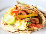 Try this restaurant style easy chicken fajitas