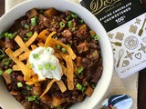 Beef and butternut squash chocolate chili