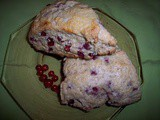 Currant and ginger scones