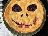 Jack Skellington boo-berry pie #HalloweenTreatsWeek
