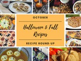 October Recipe Round-Up {Fall & Halloween}