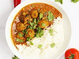 Lamb Meatball Curry with Coconut Gravy