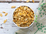 Salt and Pepper Roasted Pumpkin Seeds (Vegan, Sugar-Free)