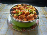 Bread Upma Recipe | Bread Masala Upma With Vegetables