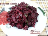Beetroot Masala Recipe