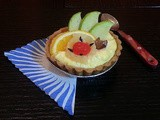 Custard Fruit Tart / Fruit Custard Tart / Fruit Tart
