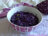 Purple Cabbage Thoran