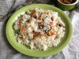 Vegetable Ghee Rice