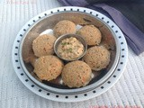 Wheat Rava Idli / Broken Wheat idli