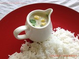 Corn - Coconut Milk Sauce