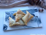 Nutella Puff Pastry Turnovers / Nutella Puffs