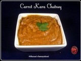 Carrot Chutney (Spicy Version) | கேரட் கார சட்னி | Carrot Kara Churney