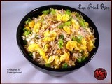 Egg Fried Rice | Indo-Chinese Recipe