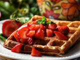 Buttermilk Waffles – Light and Crispy