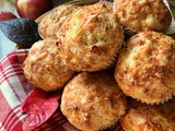 Cheese Muffins: a Savory Recipe with Apples