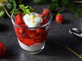 Easy Summer Berry Honey Whipped Ricotta Parfait