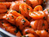 Glazed Carrots Recipe with Marsala