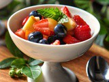 Healthy Fruit Salad Recipe with No Added Sugar