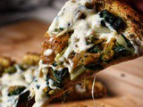 Healthy Homemade Pizza Recipe with Swiss Chard