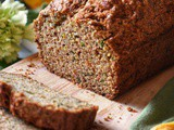Healthy Zucchini Bread Recipe with Whole Wheat Flour