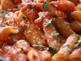 Italian Pasta Recipe with Arrabbiata Sauce