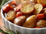 Roasted Small Potatoes and Carrots Recipe