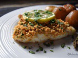 Simple Oven Baked Garlic Oregano Crusted Cod Fish