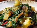 Swiss Chard Recipe with Potatoes