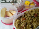 Mint Pulao - Kids Lunch Box Recipes