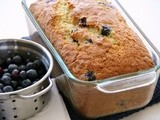Blueberry Dreamsicle Orange Lower-Fat Quick Bread for #TwelveLoaves