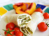 Poor Man's Burrito {Hatch Chile Roll-up}