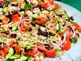 Provençal Tuna and Shredded Zucchini Salad (Gluten-Free)