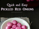 Quick and Easy Pickled Onions - Sirke Wale Pyaaz