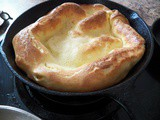 Dutch Baby or Popover Pancake