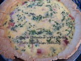 Quiche Lorraine with Herbs for Baking Bloggers