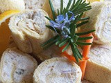 Retro: Smoked Salmon Pinwheels