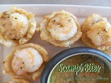 Scampi Bites for Healthy Solutions Spice Blends