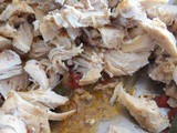 Shredded Chicken for Enchiladas or Taco's or