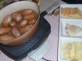 Raclette party aux 3 fromages